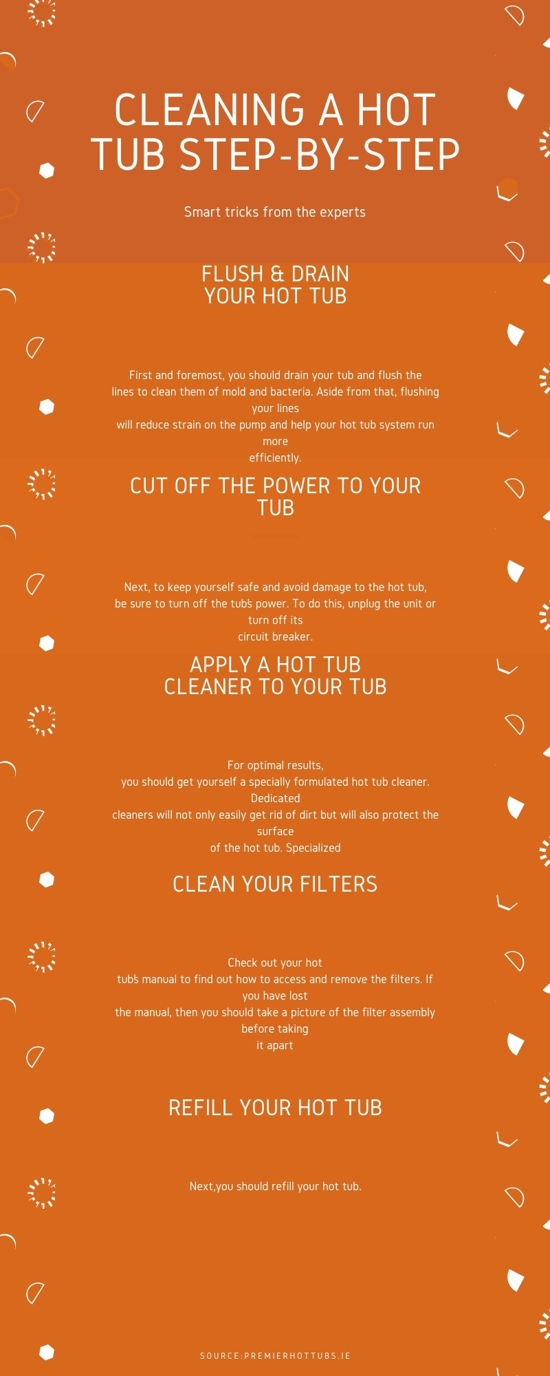 Cleaning A Hot Tub Step-By-Step Guide