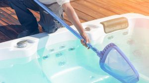 How to clean a hot tub step by step